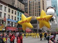 Macy's Star Balloons